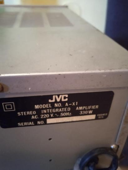 JVC A-X1 stereo integrated amplifier  - TV, audio, video