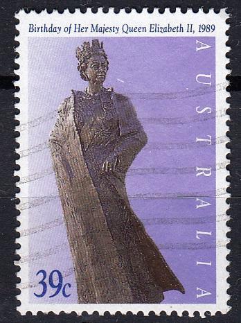 Austrálie 1989 Mi.1151 prošla poštou
