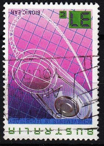 Austrálie 1987 Mi.1051 prošla poštou