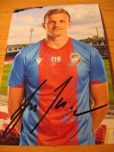 JAN  KOPIC  - FC Viktoria Plzeň - orig. autogram