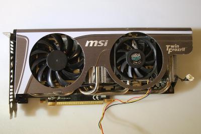 Grafická karta - MSI - N 470 GTX Twin Frozr - na ND