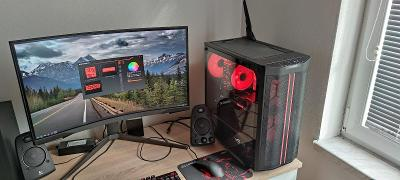 Herní PC Ryzen 3600 XT, RX 6700 XT 12Gb