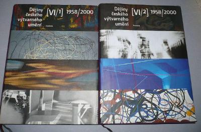 Dějiny českého výtvarného umění VI/1, 2 (1958 - 2000)