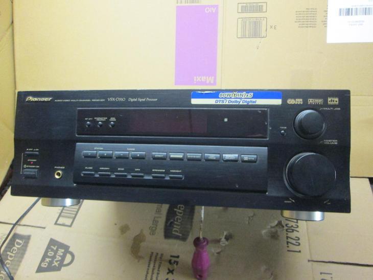 PIONEER VSX-D510 ZESILOVAC - TV, audio, video