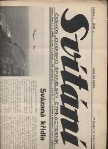 Svítání, ročník I., číslo 2./1938. Československo -