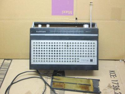 RADIO KVINTET TESLA BRATISLAVA TYP 2827 B-7