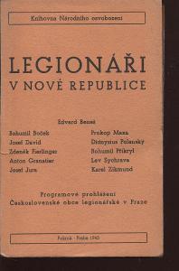 Legionáři v nové republice (legie)