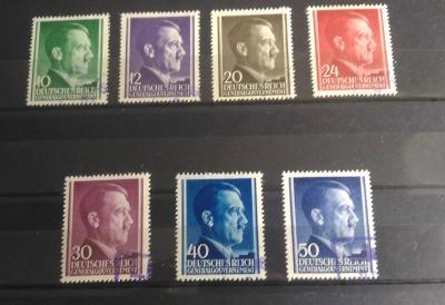 SBÍRKA Dt. Reich GG Generalgouvernement - HITLER RAZÍTKO NEBO LOKAL -*