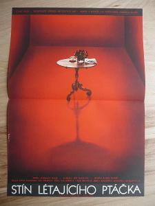 Stín létajícího ptáčka (filmový plakát, film ČSSR
