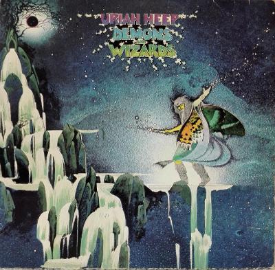 LP Uriah Heep - Demons And Wizards, 1974