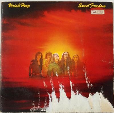 LP Uriah Heep - Sweet Freedom, 1973