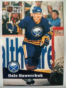 Dale Hawerchuk #24 Buffalo Sabers 1991/92 Pro Set French