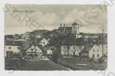 Luby (Schönbach) - Cheb, celkový pohled