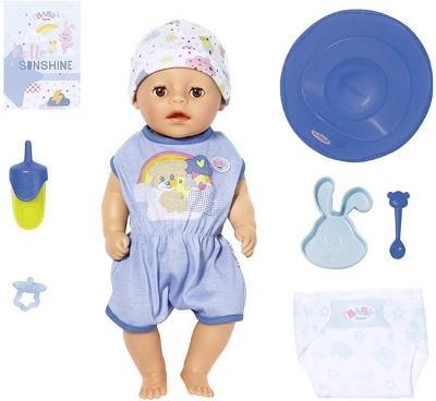 Panenka BABY born Soft Touch Little, chlapeček, 36 cm - online balení