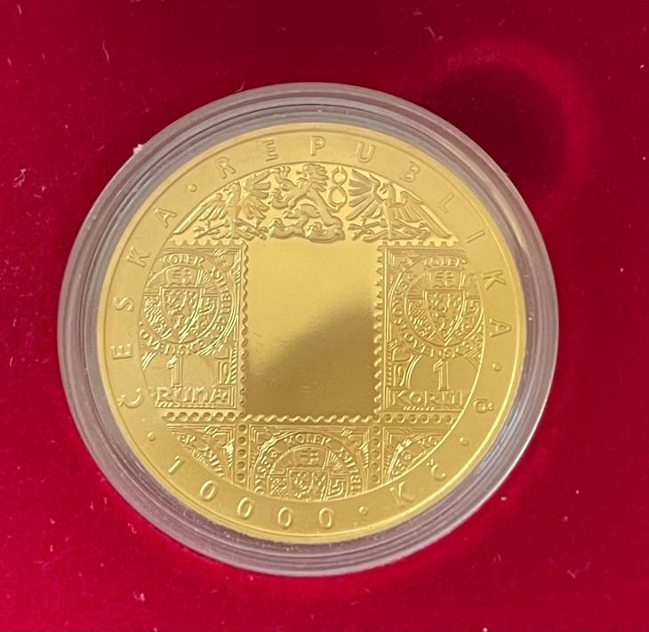 10000 Kč Zavedení československé měny 2019 Proof - Numismatika