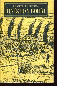 Hnízdo v bouři (obálka Kamil Lhoták)