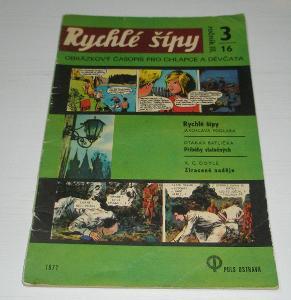 Jaroslav Foglar - RYCHLÉ ŠÍPY 3/16 1971 od 1,- Kč