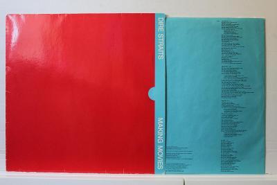 Dire Straits – Making Movies LP 1980 vinyl Francie 1.press top stav EX