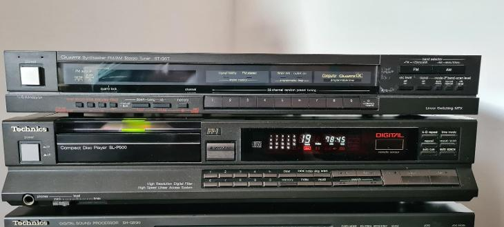 Technics sl-p500 + st-g6t - TV, audio, video