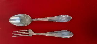 Stříbrné nebo alpaka příbory