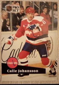 Calle Johansson - PRO SET 91-92