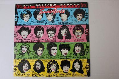 The Rolling Stones Some Girls LP 1978 vinyl Germany 1.pres top stav EX