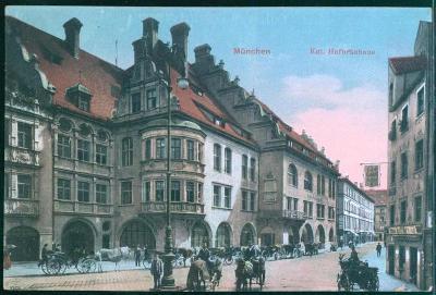 27A1531 Deutschland Mnichov / München, Hofbräuhaus / královský pivovar