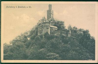 27A1567 Deutschland hrad Marksburg bei Braubach am Rhein