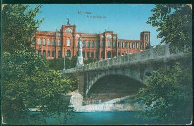 27A1576 Deutschland Mnichov / München Maximilianeum
