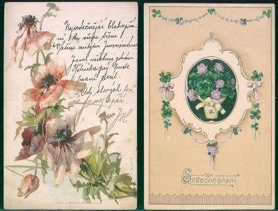 25A601  Srdečné přání - květiny