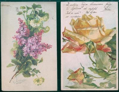 25A603 Přání - květiny