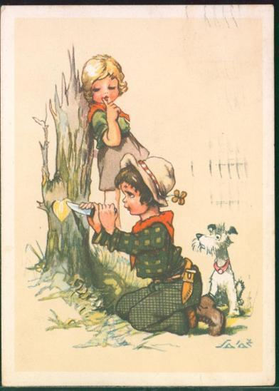 25A733 A.L. Salač - téma dětská láska