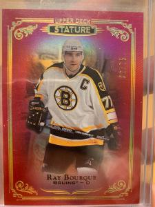2019-20 Stature Ray Bourque red /75
