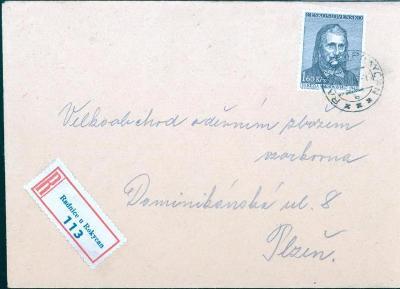 11B417 R dopis Radnice u Rokycan - Plzeň