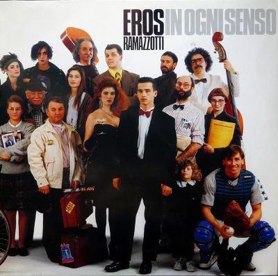 Eros Ramazzotti – In Ogni Senso LP 1990 vinyl jako nove NM
