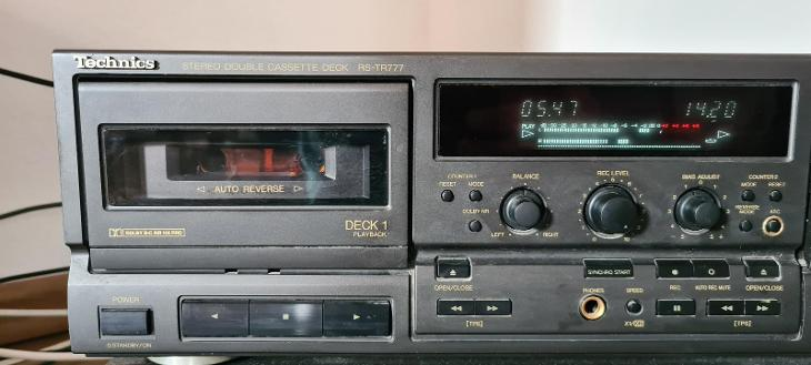 Technics rs-tr777  - TV, audio, video