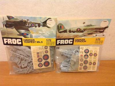 FROG - Hawker Typhoon, Hawker Tempest Mk.5, 1/72