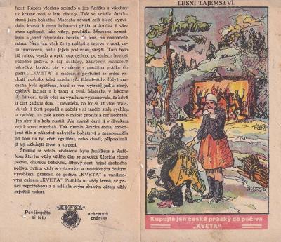 Pohádka Lesní tajemství, prášek do peč. Kveta