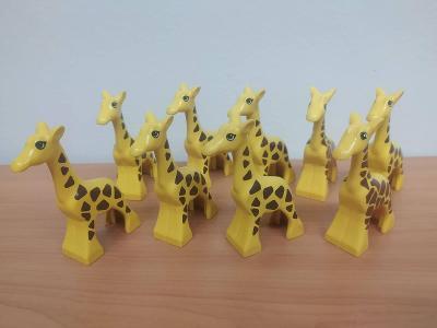 Lego duplo žirafy - 9 ks
