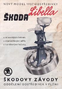 Katalog odstředivka Škoda Libella, Plzeň
