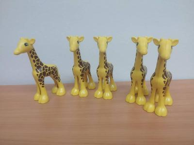 Lego duplo žirafy - 5 ks