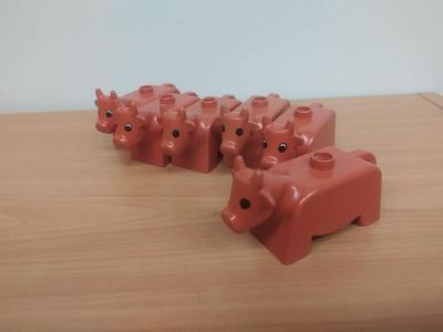 Lego duplo kravička - 6 ks