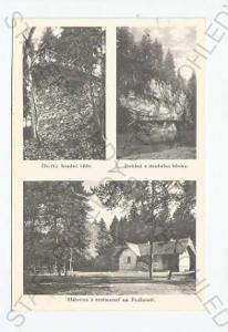 Příběnice Tábor koláž více záběrů zřícenina hradu