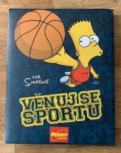 The Simpsons - Věnuj se sportu (2012) sběratelské album s kartami