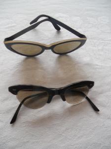 Plastové brýle dětské, RETRO