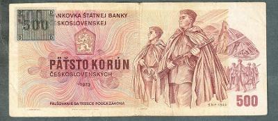 500 kčs 1973 KOLEK serie Z19