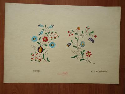 Staré výkresy - tři různé -  1927....30 x 43,5 cm..