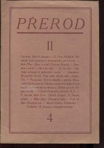Přerod, číslo 4., ročník II./1924 (Kulturní měsíčn