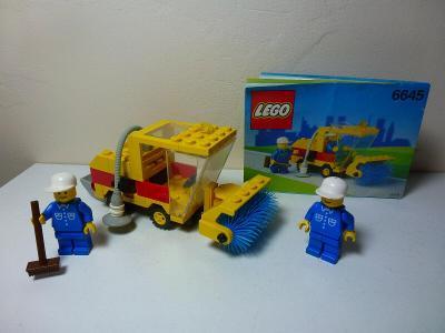 Lego 6645 Systém/City, Městský zametač z 90 let