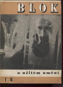 Blok - časopis pro umění, roč. I., číslo 8/1947. O u